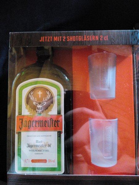 [lokal Riedenburg Netto MD] Jägermeister mit Shotgläser 8,88€