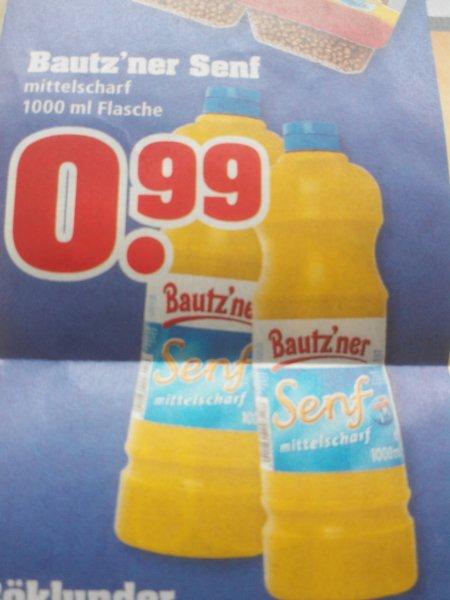 abgelaufen!!! Trinkgut Bautz'ner Senf 1000 ml für 0,99. €