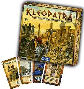 (Brettspiel) Kleopatra und die Baumeister für 12,99 €, Wunderland für 9,99 €.