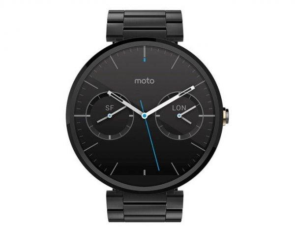 @allyouneed: Motorola Moto 360 Smartwatch Dark Metallic mit Newslettergutschein für 184 € / Idealo ab 230 €