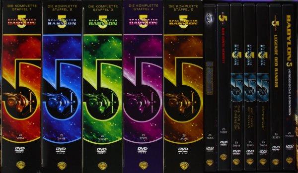 (Amazon.de) Spacecenter Babylon 5 - Complete Collection 37 DVDs für 54,97€