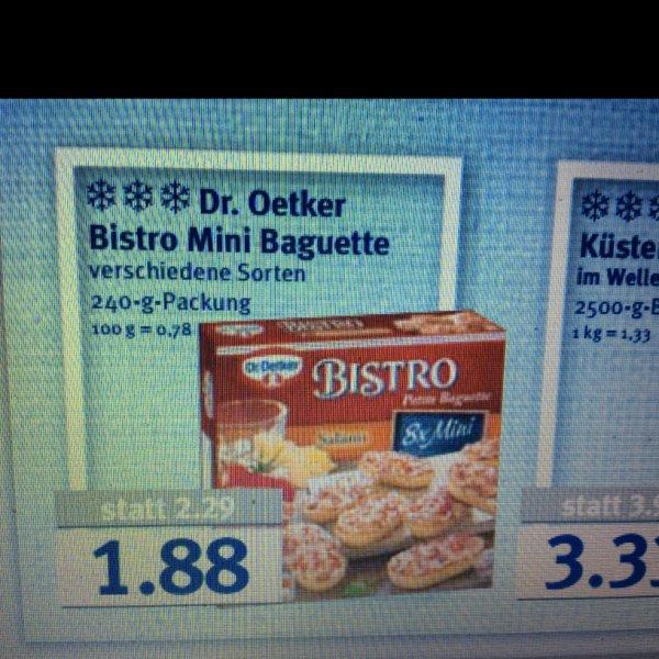 [Combi/Minipreis/Jibi] Dr.Oetker Bistro Mini Baguette