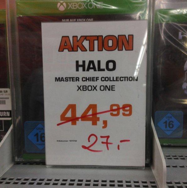 [lokal Hamburg Saturn HBF] Halo Master Chief Collection