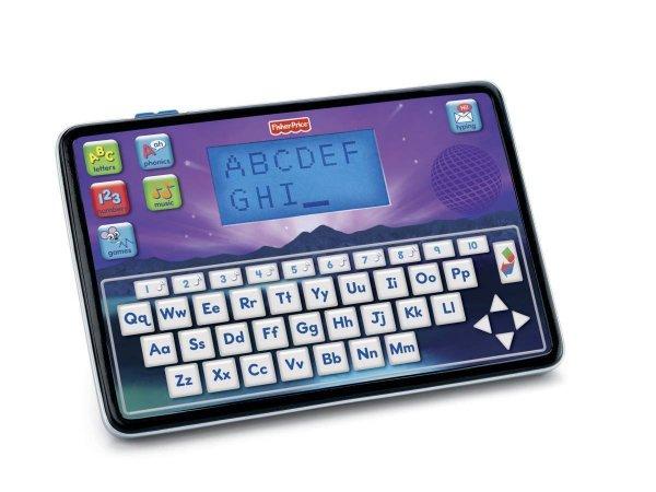 Amazon Prime oder Buchtrick: Mattel Fisher-Price W8780 - Smart Tablet, zweisprachiger Lerncomputer / Idealo ab 26 €