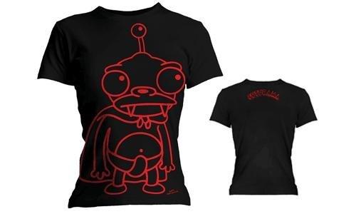 Amazon Prime: Futurama - Foil Nibbler Damen/Mädchen T-Shirt - Größe S - Nur 3,77 € inkl. Versand