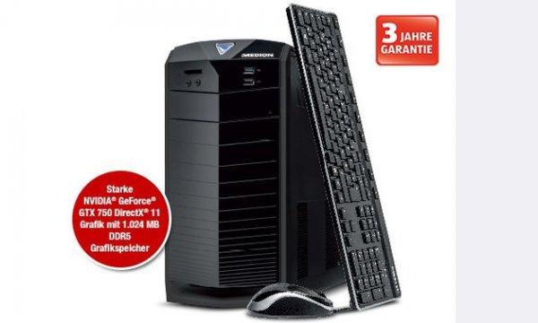 [Lokal Wiesbaden] Aldi: Medion Akoya E2225 D - Haswell-Pentium, 4GB, 1 TB HDD, GTX 750