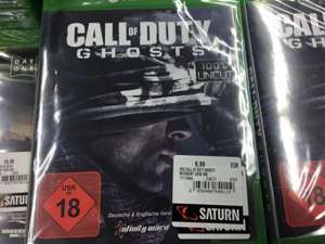 Call of Duty Ghosts Xbox one 9,99Euro Saturn Local Berlin