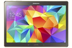 [Amazon.it] Samsung Galaxy Tab S 10.5 LTE (10,5'' WQXGA 2560 x 1600 AMOLED, ARM Cortex Octacore (1,9 GHz + 1,3 GHz), 3GB RAM, 16GB intern, 7900 mAh, Android 5.0) ab 323,60€