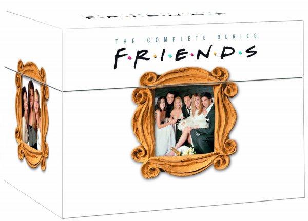 Friends - Die Jahre 1994-2004 (10 Staffeln auf 41 DVD´s) für 60 € statt 74 €, @Amazon