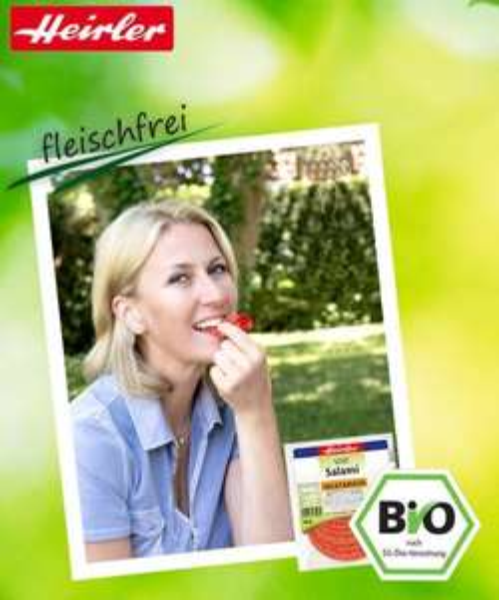 Heirler Probier-Rabatt - leckere vegetarische Wurst!