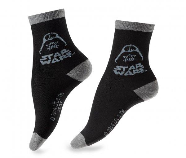 [7% Qipu] 2 Paar Star-Wars-Socken in grau und schwarz (verfügbare Größen 35-46) für 4,95€ bei Lieferung in die Filiale @Tchibo