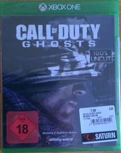 [lokal Berlin Alexanderplatz Saturn] xbox one Call of duty Ghosts