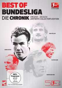 Amazon.de: Best of Bundesliga - Die Chronik (1963-2014 Collector's Edition im edlen Metallic-Schuber) (9-DVD-Box)
