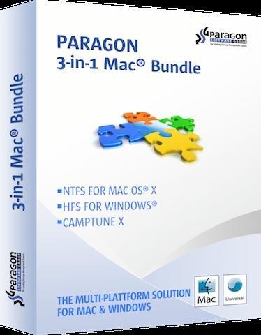Das Paragon 3-in-1 Mac-Bundle mit 3 Apps aktuell für 10,96€ – 72% Ersparnis