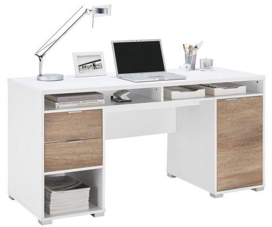 schreibtisch pepe mit viel stauraum f r 61 60 bei m max filialen. Black Bedroom Furniture Sets. Home Design Ideas
