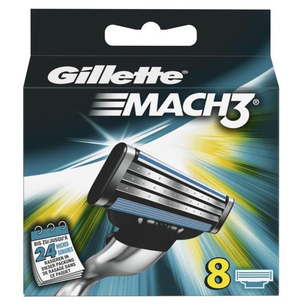 Gillette MACH3, 8 Klingen - Amazon Blitzangebot