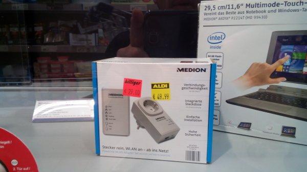 [lokal] Aldi Medion MD87320 / P815150 Powerline Adapter