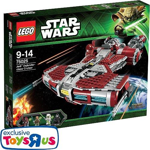 LEGO Star Wars - 75025 Jedi Defender-Class Cruiser bei Toys R Us für 74,98