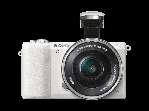 [Saturn.at] SONY Alpha 5100 weiß +16-50mm Objektiv für nur 361,99€ inkl. Versand nach DE PVG: 489€