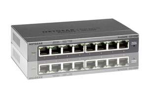 Multicast Switch (Entertain) Netgear GS108E-300PES ProSafe Plus 10/100/1000 MBit/s bei Amazon