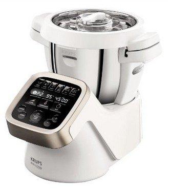 Krups HP 5031 Prep & Cook Multifunktions-Küchenmaschine mit Kochfunktion für 700€ auf Amazon