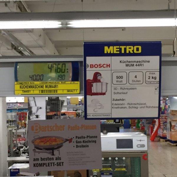 Bosch MUM44R1 Küchenmaschine (Metro Dortmund-Kley)