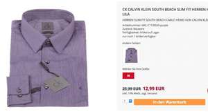 Calvin Klein CK Hemden South Beach und Cannes Slim Fit