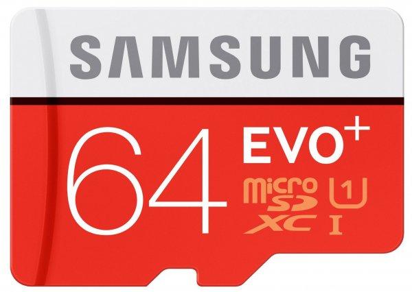 Samsung microSDXC 64GB EVO Plus für 25,99€ inkl. Versand