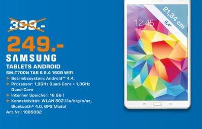 [Lokal] Samsung Galaxy Tab S 8.4 (SM-T700N) 16 GB Wifi [Saturn Flensburg]