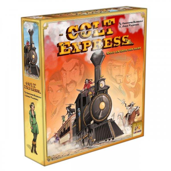 """Spiel des Jahres 2015 - Strategiespiel """"Colt Express"""" für nur 24,94 €, @ZackZack"""