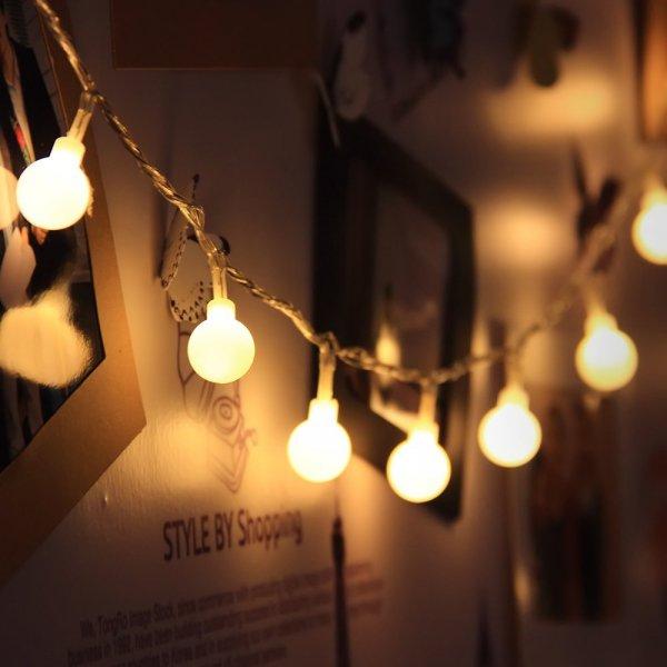 @Amazon: LED Lichterkette 10 Meter 100er Warmweiß von InnooTech ab 8,99€ mit Prime