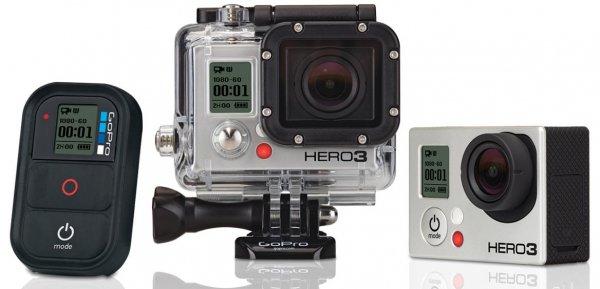 Gopro Hero 3+ Black Edition Refurbished direkt vom Hersteller - wieder verfügbar!!