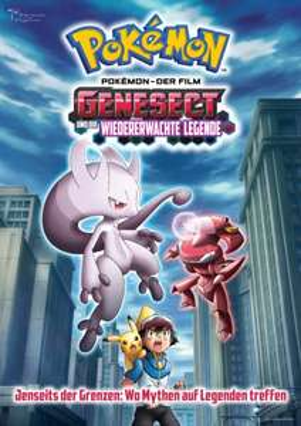 """[Evtl. Downloadbar] 16. Pokémon-Film: """"Genesect und die wiedererwachte Legende"""" - Voller Länge  und HD"""