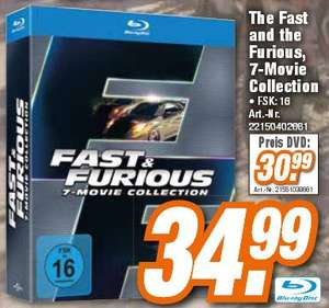 [LOKAL][HEM Expert] Fast & Furious - 7 Movie Collection - (Blu-ray)