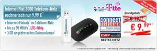 [Mobilcom Debitel] 3GB Datentarif im Telekom LTE Netz