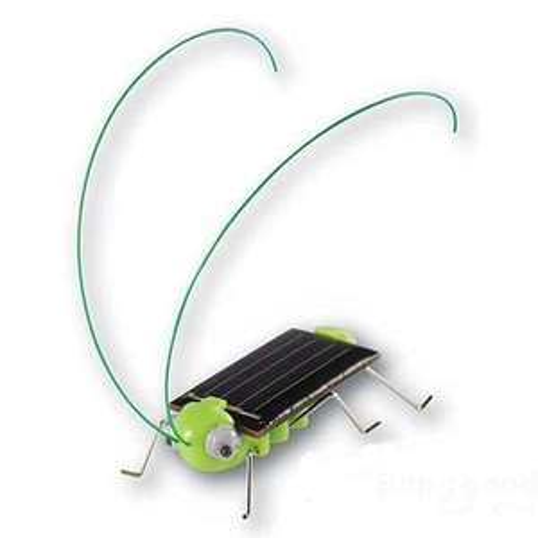 [BangGood.com] Gadget solarbetriebener Grashüpfer