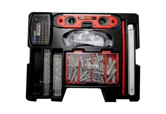 Kress-Werkzeugset 137tlg für 14,99€ @DealClub