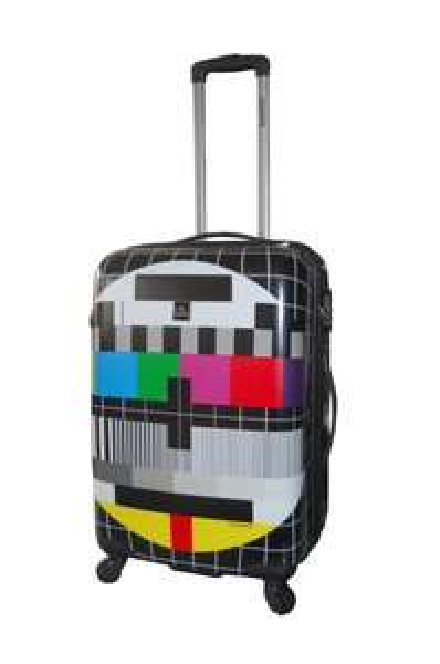 Amazon: Saxoline Koffer Tv-screen, 67 cm, 53 Liter für 36,16 EUR
