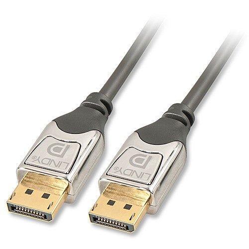 LINDY 41531 CROMO® DisplayPort Kabel mit 1,07 Millarden Farben @4k (10bit) - 1m für 18,16 @ allyouneed