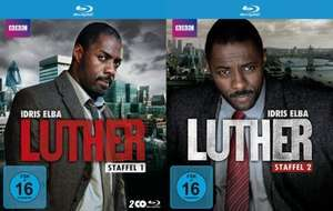 [Media Dealer Tagesangebot] Luther (Staffel 1 + 2 im Set) [Blu-ray] für 23,99€ inc. Versand