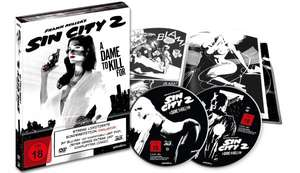 [Media Dealer] Sin City 2 - A Dame to Kill For - Blu-ray 3D + DVD / Mediabook (Blu-ray) für 41,96€ inc. Versand