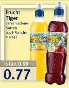[Jibi-Combi] KW33 FruchtTiger 0,5l für 0,47€ (Angebot + Coupon) [10.08.2015 - 15.08.2015]