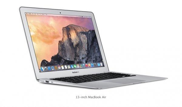 """Apple MacBook Air 1.6GHz 13.3"""" 128GB FÜR 888FR [835€]"""
