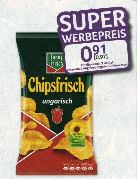 [Selgros] funny-frisch Chipsfrisch oder Chio Chips - € 0,97 - max. 3 pro Kundenkarte