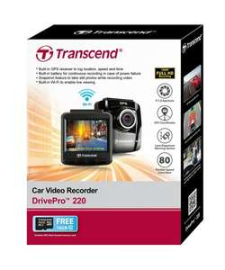 @Amazon Transcend TS16GDP220A DrivePro 220 Full-HD Autokamera 149,90 €