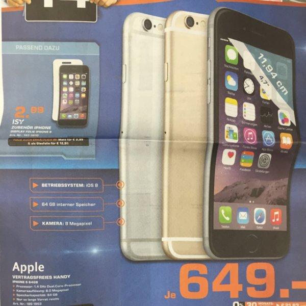 [Saturn Dortmund City] iPhone 6 64GB