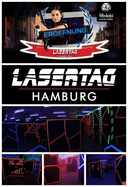 [lokal| Heute und Morgen kostenlos in Hamburg LaserTag spielen!