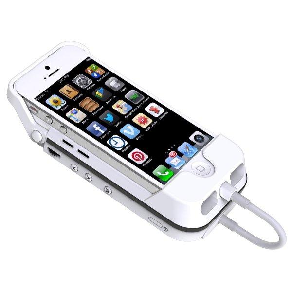 @Amazon WHD: Aiptek MobileCinema i55 Mobile DLP Pico Projektor (VGA, Kontrast 1000:1, 50 ANSI Lumen, HDMI, Batterie Pack) für Apple iPhone 5 und iPhone 5S, weiß  Idealo ab 190 €