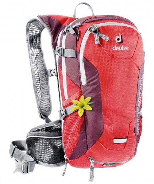 [engelhorn.de] Damen Bikerucksack Compact EXP 10 SL rot Deuter 30,86€