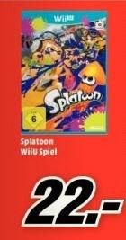 [Lokal Trier] Splatoon Wii U Mediamarkt Trier für 22 €